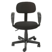 Merax 15'' Mesh Office Task Chair with Arm; Black