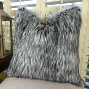 Plutus Brands Siberian Husky Handmade Faux Throw Pillow; 26'' H x 26'' W