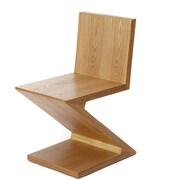 MCM HOME DECO Gerrit Thomas Rietveld style Zig Zag Side Chair