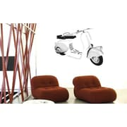 Smart Deco 15 Piece Roman Holiday Wall Decal