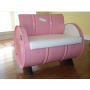 Drum Works Furniture Kids Novelty Chair w/ Storage Compartment
