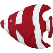 Handcrafted Nautical Decor Tropical Fish Pillow