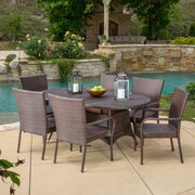 Home Loft Concepts Blakely 7 Piece Dining Set
