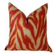 Plutus Brands Smooth Move Fuchsia Throw Pillow; 24'' H x 24'' W
