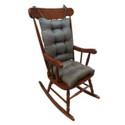 Klear Vu Omega 2 Piece Rocking Chair Cushion; Seal