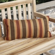 Mozaic Company Knife Edge Indoor Outdoor Sunbrella Lumbar Pillow (Set of 2)