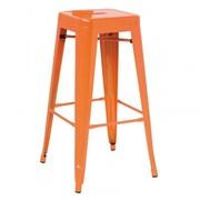 VIG Furniture Modrest Bar Stool; Orange