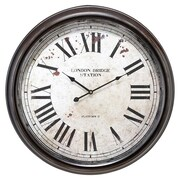 UMA Enterprises London Station Wall Clock