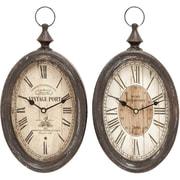 UMA Enterprises Abernathy Wall Clock (Set of 2)