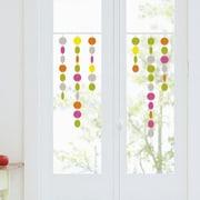 Retrospect Group Colored Dots Decorative Window Sticker
