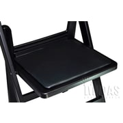 Midas Event Supply Revolution Replacement Plastic/Resin Seat Pad; Black