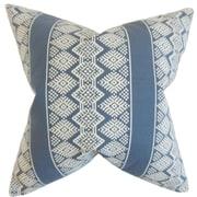 The Pillow Collection Zadock Geometric Throw Pillow; 18'' x 18''