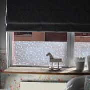 WallPops! Scroll Flower Static Window Film