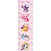 WallPops! My Little Pony Growth Chart Wall Sticker