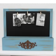 Fetco Home Decor Gaige Cubby Picture Frame; Blue