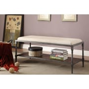 Hokku Designs Leons Upholstered Entryway Bench