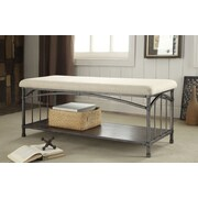 Hokku Designs Missone Upholstered Entryway Bench