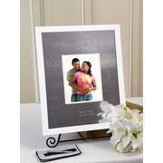 SignatureKeepsakes Personalized White Guest Book Frame; Vertical