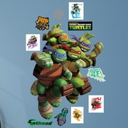 Fathead Nickelodeon TMNT Heroes in a Half Shell Peel and Stick Wall Decal
