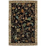 Capel Garden Farms #3 Hand Tufted Onyx Area Rug; 7' x 9'