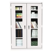 Clear View Storage, 46Wx24Dx72H, White