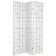 Wildon Home   Shoji Style 70.5'' x 51'' 3 Panel Room Divider; White