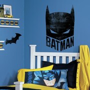 Room Mates Batman Mask Peel and Stick Giant Wall Decals