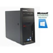 Lenovo M58 Torwer Refurbished Desktop, Intel Core 2 Duo E8400 3.0GHz, 8GB RAM, 1TB HDD, Windows 10 Home Pro 64-bit