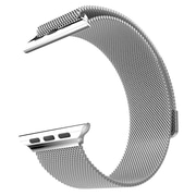 Mgear Accessories Milanese Loop Band, Silver (apple-watch-38 mm-milanese-loop)