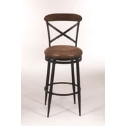 Hillsdale Henderson 26'' Swivel Bar Stool with Cushion
