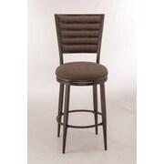 Hillsdale Rouen 26'' Swivel Bar Stool with Cushion