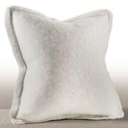 Chauran Karina Down Feather Throw Pillow; Ivory