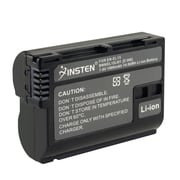 Insten® 1058575 Rechargeable Decoded Li-ion Battery For Nikon EN-EL15, Black