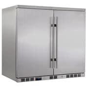 Kingsbottle KBU-56A-SD Outdoor Beverage Cooler Stainless Steel