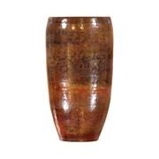 Pasargad Pasargad Hand-Forged Decorative Copper Vase; 15'' H x 8'' W x 8'' D