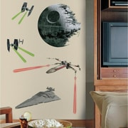 Room Mates Star Wars Ep VII Classic Ships P and S Giant Wall Decal