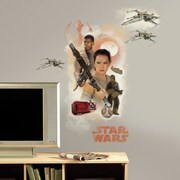 Room Mates Star Wars Ep VII Hero Burst P and S Giant Wall Decal