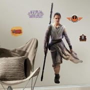 Room Mates Star Wars Ep VII Rey P and S Giant Wall Decal