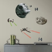 Room Mates Star Wars Ep VII Spaceships P and S Wall Decal