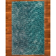 Natural Area Rugs Maldives Hand-Woven Blue Area Rug; 8' x 10'
