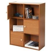 Wildon Home   31'' Cube Unit Bookcase; Light Cherry