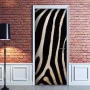 WallPops! Zebra Door Decal