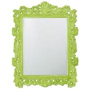 Howard Elliott Napoleon Mirror; Moss Green