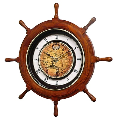 Rhythm Voyager Classic 25'' Wall Clock WYF078278122501