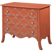 Bassett Mirror L'Oragerie 3 Drawer Chest