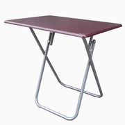 Wee's Beyond Over Sized TV Tray Folding Table; Cherry