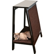 The Refined Feline A-Frame Cat Bed; Espresso
