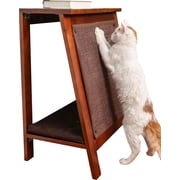 The Refined Feline A-Frame Cat Bed; Mahogany