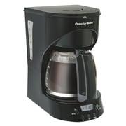 Proctor-Silex Programmable 12-Cup Coffee Maker; Black