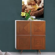 Bellini Modern Living City Accent Cabinet